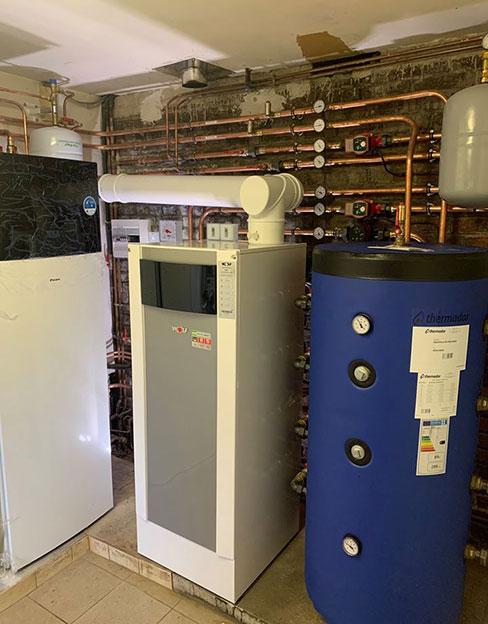 Installation de système de chauffage à Saint-Amand-les-Eaux